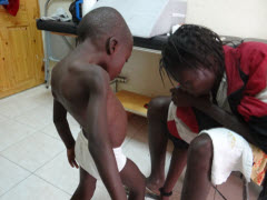 Cartas desde Haití, l@s niñ@s del taller